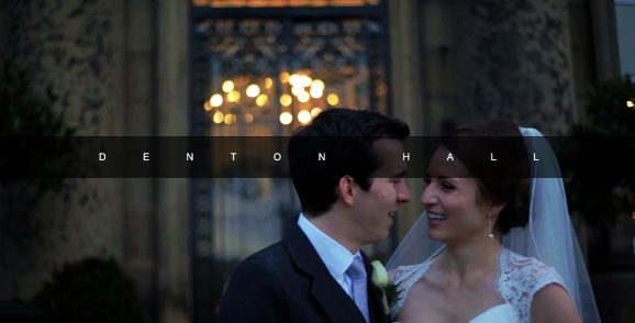 Denton Hall wedding video
