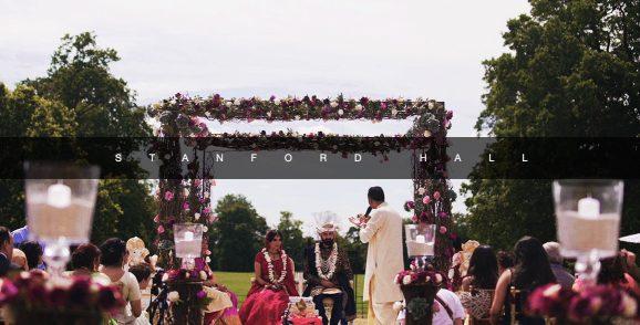 Stanford hall Asian wedding film